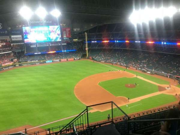 Minute Maid Park, section: 409, row: 5, seat: 22