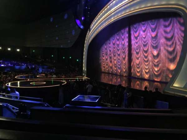 Zappos Theater, section: 101, row: B, seat: 3-4