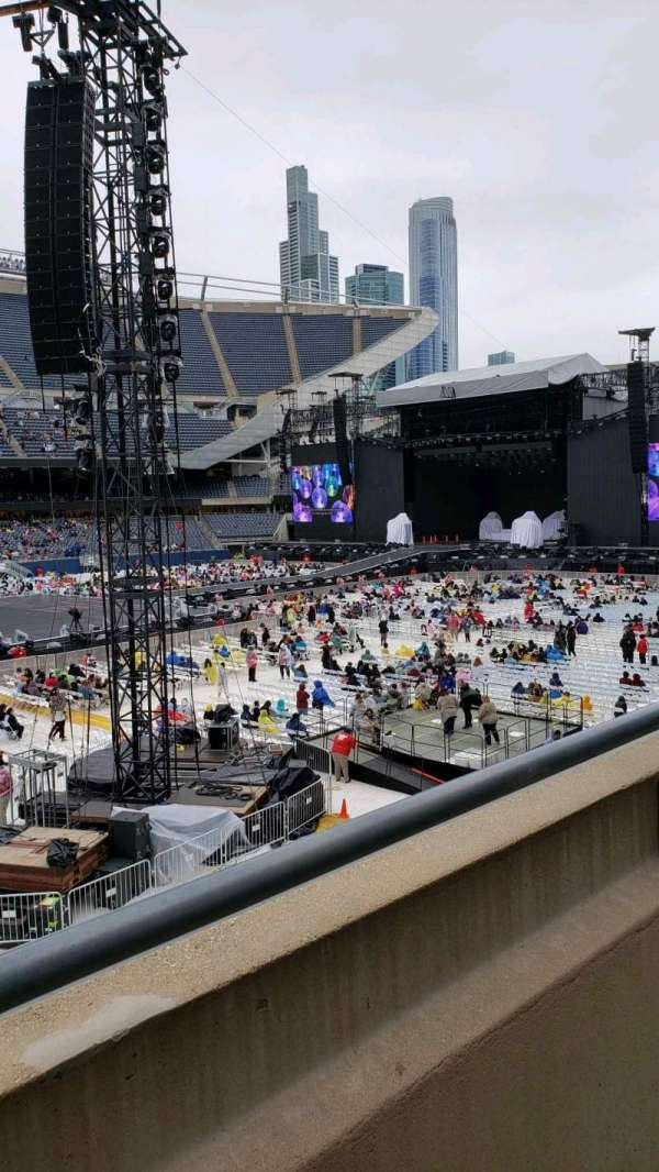 Soldier Field, section: 211, row: 1, seat: 14