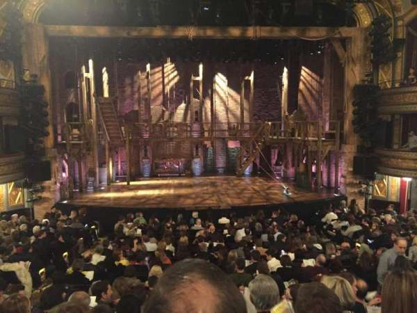 Richard Rodgers Theatre, section: Orchestra C, row: Q, seat: 108