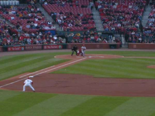 Busch Stadium, section: 109, row: 28, seat: 6