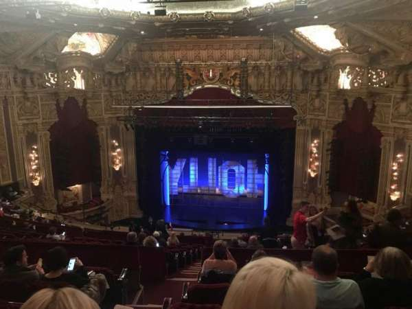 James M. Nederlander Theatre, section: Balcony RC, row: S, seat: 322