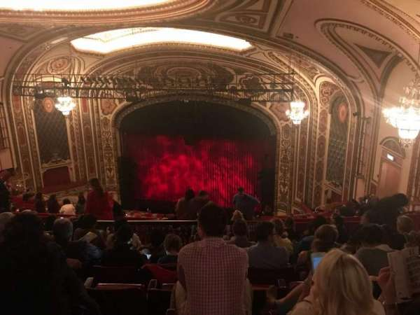 Cadillac Palace Theater, section: Balcony R, row: T, seat: 12