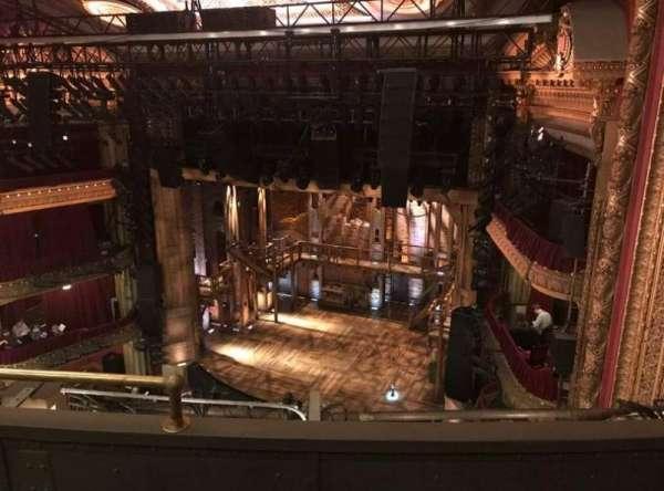 CIBC Theatre, section: Balcony R, row: C, seat: 6