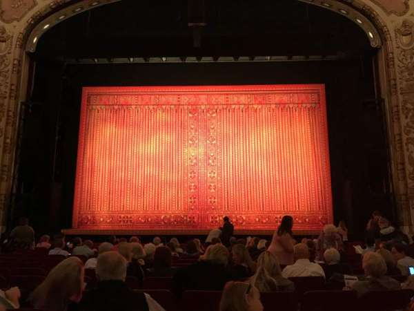 Cadillac Palace Theater, section: Orchestra C, row: N, seat: 111