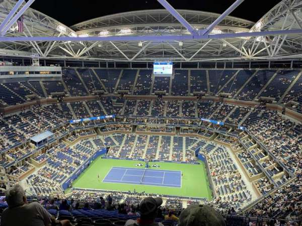 Arthur Ashe Stadium, section: 312, row: Z, seat: 6