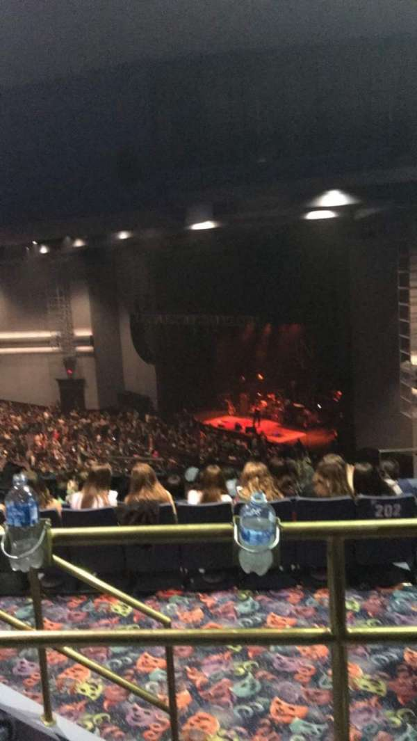 Rosemont Theatre, section: 202, row: J, seat: 7