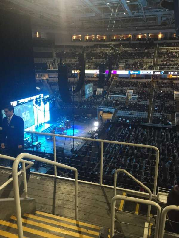 SAP Center, section: 215, row: 5, seat: 24