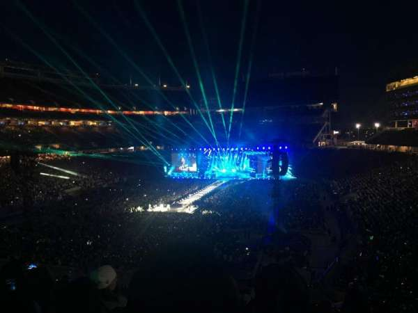 Levi's Stadium, section: 201, row: 12, seat: 14