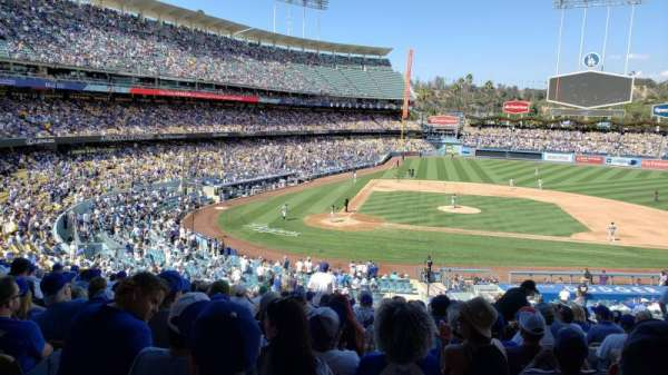 Dodger Stadium, section: 124LG, row: P, seat: 3