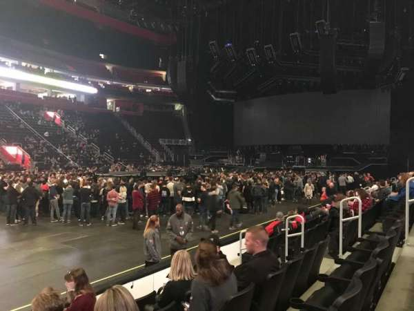 Little Caesars Arena, section: 111, row: 5, seat: 9