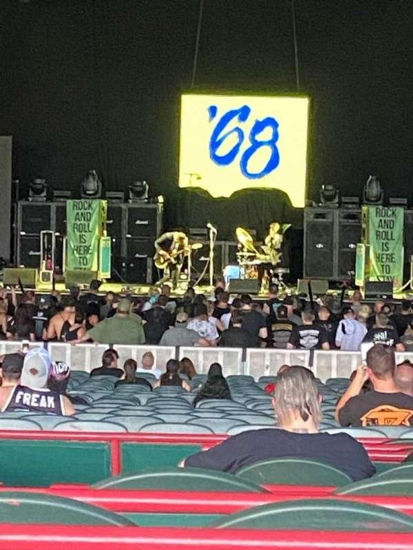 BB&T Pavilion, section: 202, row: D, seat: 25