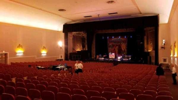 Keswick Theatre, section: Back Right, row: Z, seat: 26