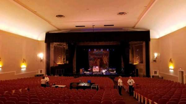 Keswick Theatre, section: Back Center, row: Z, seat: 102