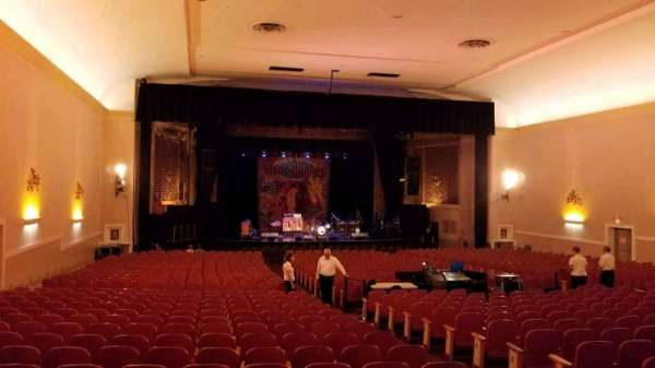Keswick Theatre, section: Back Left, row: Z, seat: 11