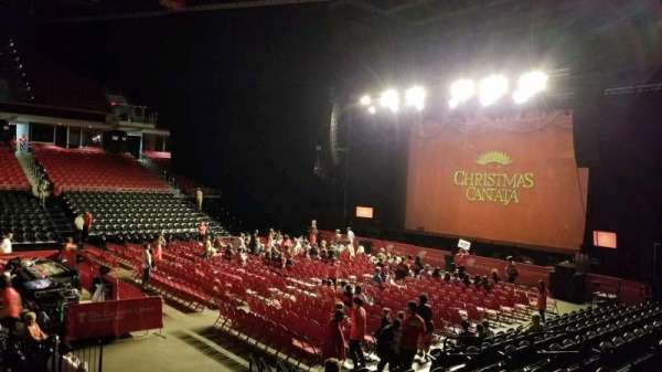 Liacouras Center, section: 106, row: N, seat: 1
