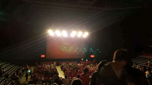 Liacouras Center, section: 109, row: V, seat: 2