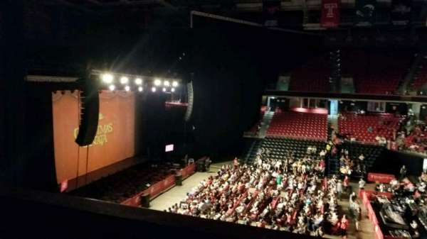 Liacouras Center, section: 212, row: V, seat: 1
