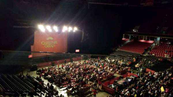 Liacouras Center, section: 210, row: C, seat: 17