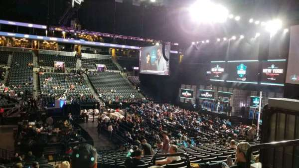 Barclays Center, section: 10, row: 1, seat: 1