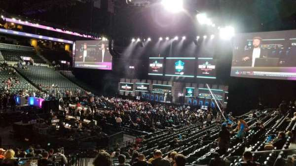 Barclays Center, section: 12, row: 19, seat: 18