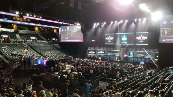 Barclays Center, section: 12, row: 17, seat: 1