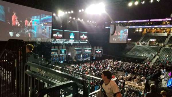 Barclays Center, section: 122, row: 3, seat: 7