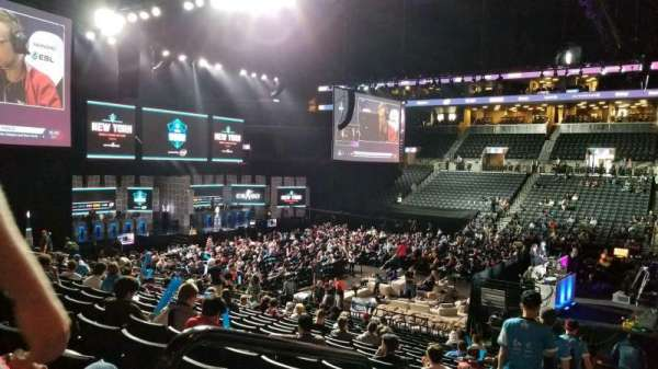 Barclays Center, section: 23, row: 19, seat: 8