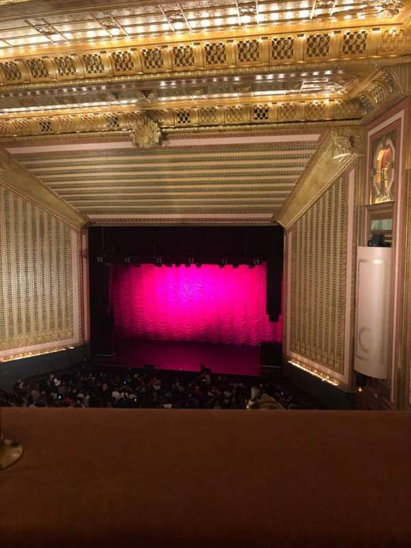 Lyric Opera House, section: 3 Rd Floor, row: 1, seat: 17