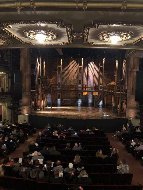 CIBC Theatre, section: Dress Circle C, row: A, seat: 208