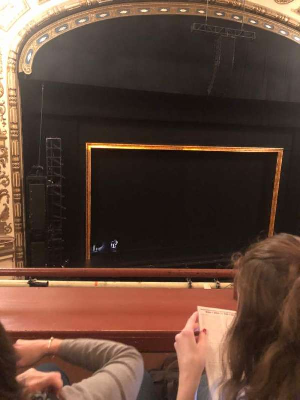 Cadillac Palace Theater, section: LOGE LC, row: 15, seat: 302
