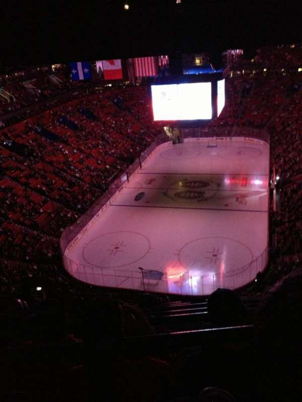 Centre Bell, section: 309, row: C, seat: 9