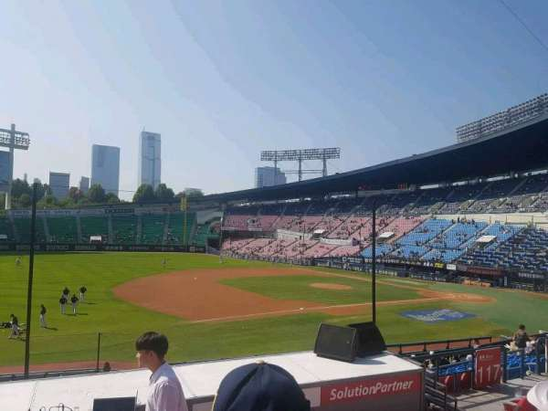 Jamsil Baseball Stadium, section: 220, row: 6, seat: 56