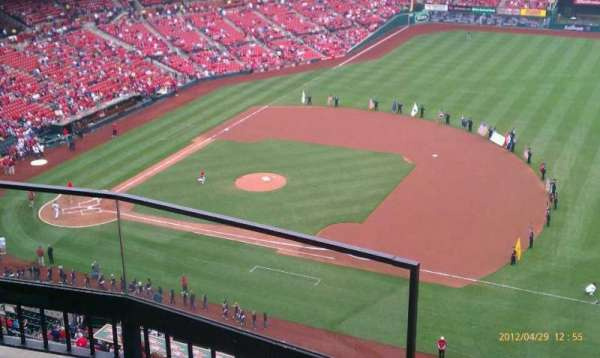 Busch Stadium, section: 440, row: 3, seat: 1