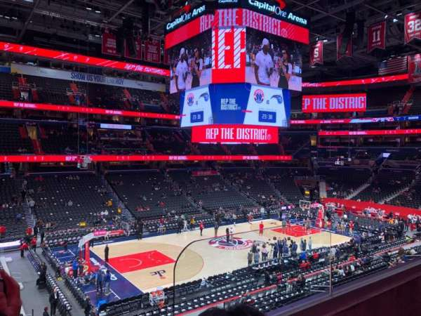 Capital One Arena, section: 227, row: B, seat: 9