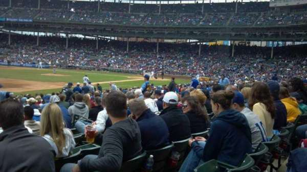 Wrigley Field, section: 107, row: 6, seat: 9