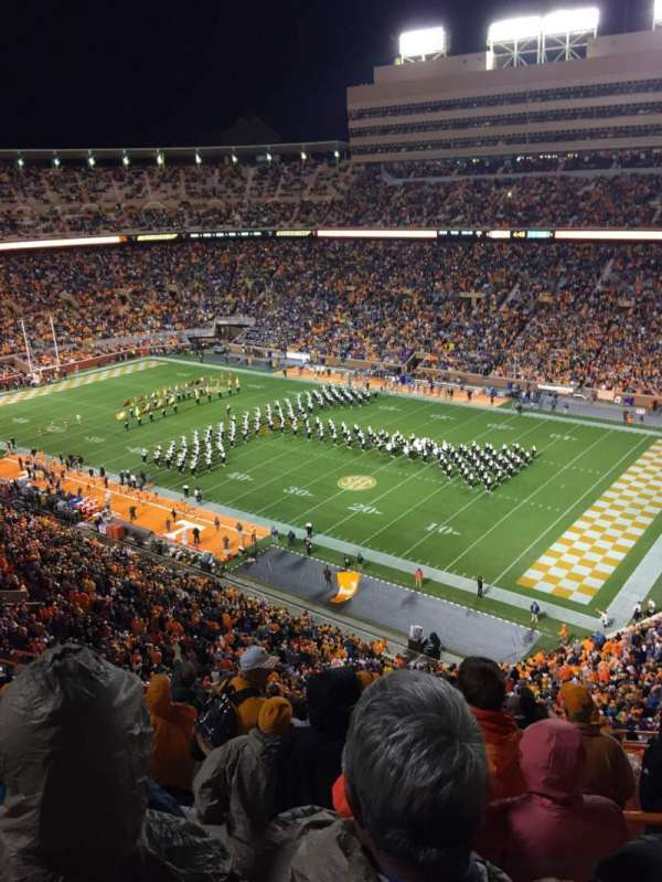 Neyland Stadium, section: QQ, row: 16, seat: 3