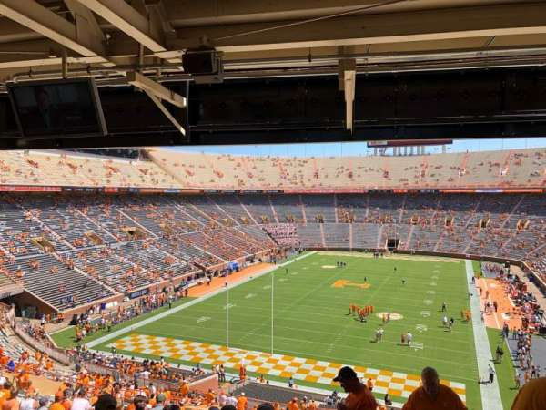 Neyland Stadium, section: Y7, row: 51, seat: 3