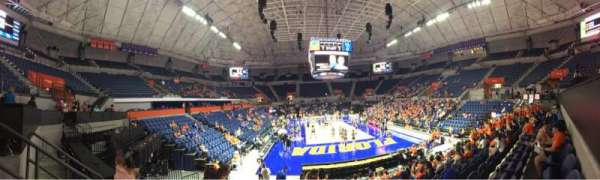 Exactech Arena, section: 220, row: 6, seat: 11
