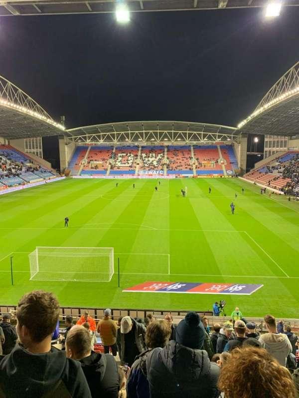 DW Stadium, row: AA, seat: 72