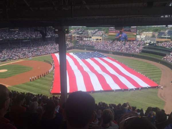Wrigley Field, section: 538, row: 9, seat: 7