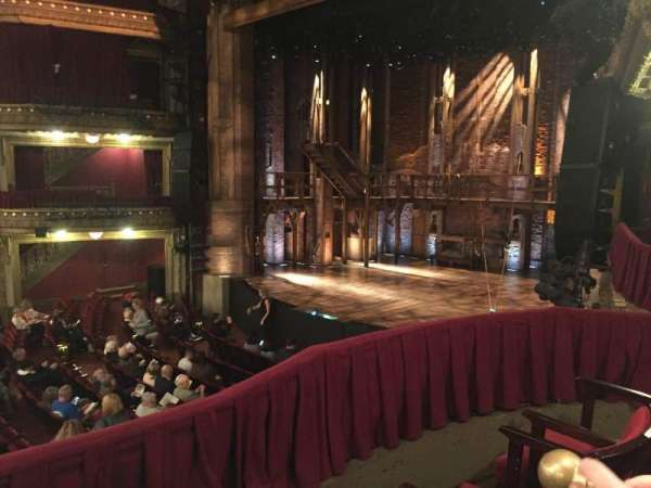 CIBC Theatre, section: DCRBX2, row: BX2, seat: 214