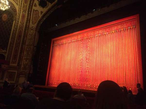 Cadillac Palace Theater, section: Orchestra R, row: J, seat: 10