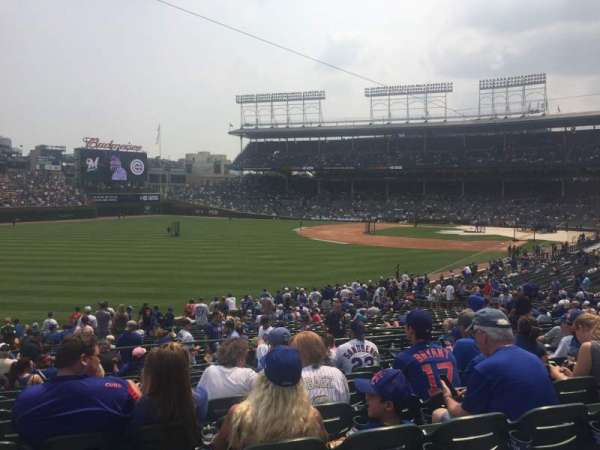 Wrigley Field, section: 203, row: 12, seat: 3