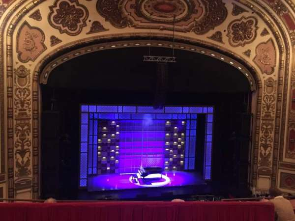 Cadillac Palace Theater, section: BALCLC, row: D, seat: 306