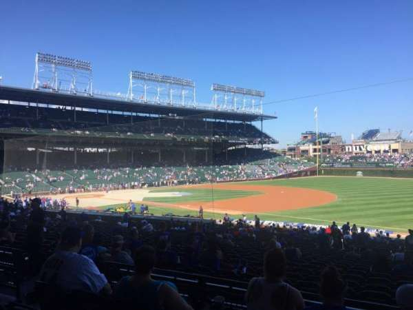 Wrigley Field, section: 228, row: 4, seat: 8