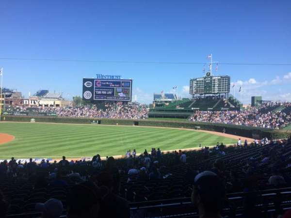 Wrigley Field, section: 235, row: 4, seat: 8