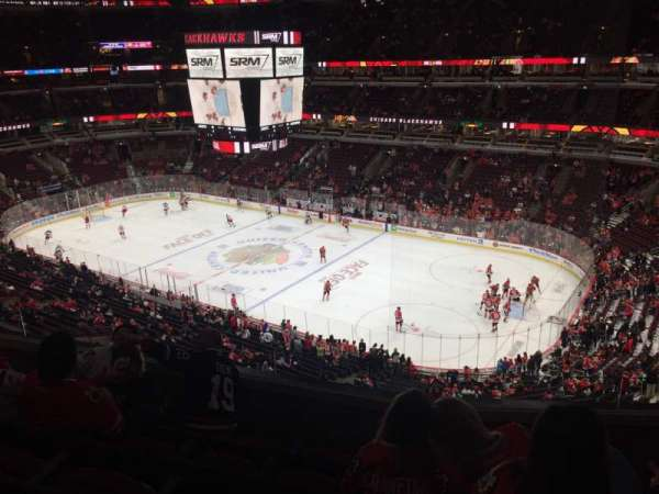 United Center, section: 314, row: 5, seat: 7