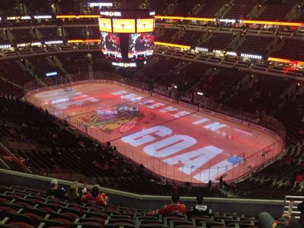 United Center, section: 313, row: 11, seat: 8