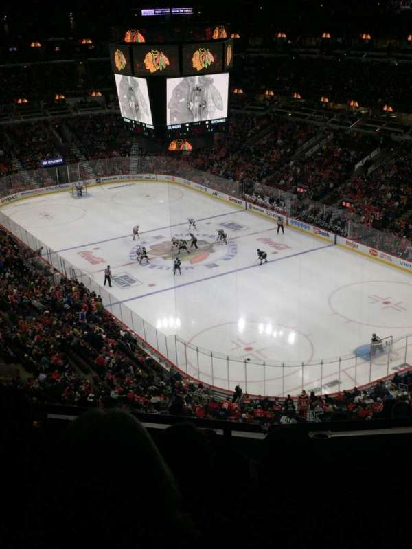 United Center, section: 312, row: 11, seat: 11